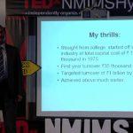 ENTREPRENEUR BIZ TIPS: The cyclist entrepreneur: DV Manohar at TEDxNMIMSHyderabad